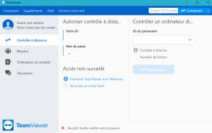 Espace de connexion TeamViewer 1 300x188 - Télétravail : Utilisez TeamViewerpour la connexion à distance