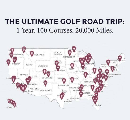 The Ultimate Golf Road Trip