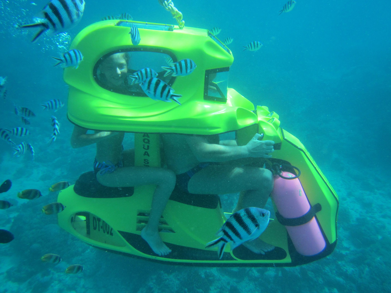 skuter bawah air tanjung benoa