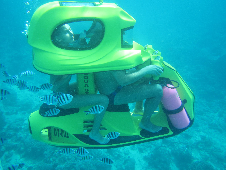 underwater scooter bali