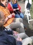 Breien op de Gandhituin