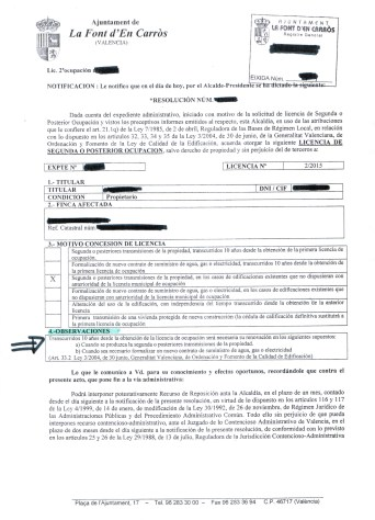 Property purchase in Spain