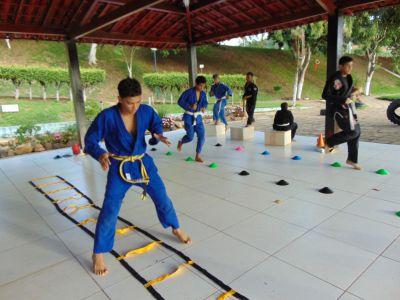 12_7 Academia de Artes Marciais em Gandu promove treinamento funcional