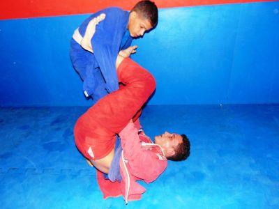 13_8 PTN: CT Jorge Monge recepciona equipe de Gandu em treino interativo de Jiu Jitsu