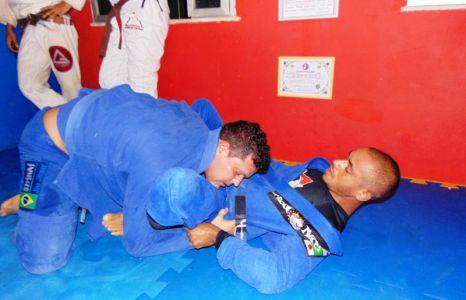 14_7 PTN: CT Jorge Monge recepciona equipe de Gandu em treino interativo de Jiu Jitsu