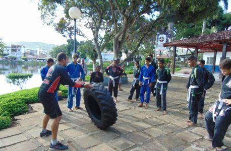 16_3 Academia de Artes Marciais em Gandu promove treinamento funcional