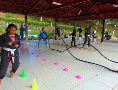 18_3 Academia de Artes Marciais em Gandu promove treinamento funcional