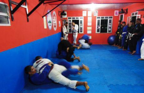 2_11 PTN: CT Jorge Monge recepciona equipe de Gandu em treino interativo de Jiu Jitsu