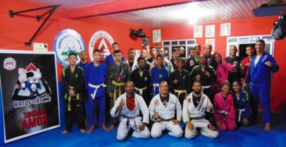 32_1 PTN: CT Jorge Monge recepciona equipe de Gandu em treino interativo de Jiu Jitsu