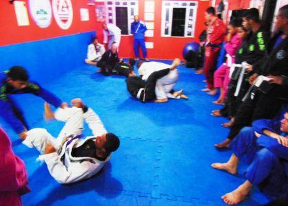 39 PTN: CT Jorge Monge recepciona equipe de Gandu em treino interativo de Jiu Jitsu