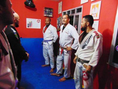 40 PTN: CT Jorge Monge recepciona equipe de Gandu em treino interativo de Jiu Jitsu