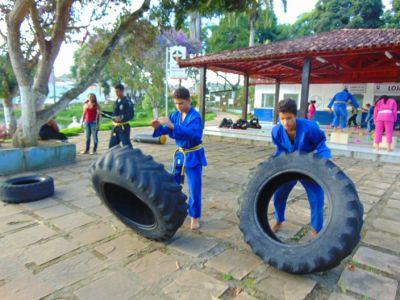 5_8 Academia de Artes Marciais em Gandu promove treinamento funcional