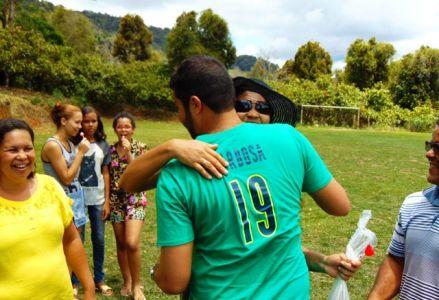 DSC08663 Gandu: Prefeito Léo foi recebido com alegria durante as comemorações ao Dia da Criança