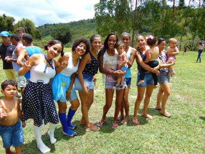 DSC08680 Gandu: Prefeito Léo foi recebido com alegria durante as comemorações ao Dia da Criança