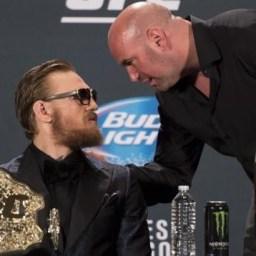 Dana White garante que próxima luta de McGregor será no UFC