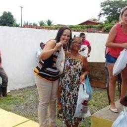 Barro preto: Prefeitura distribuiu 3 toneladas de peixes e ovos de páscoa para alunos