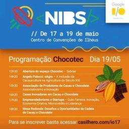 Evento em Ilhéus traz inovações para cacau e chocolate