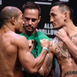 Aldo promete vitória devastadora na cerimônia de pesagem do UFC Rio