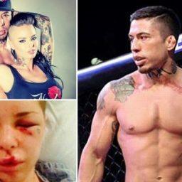 Lutador de MMA que espancou namorada é condenado à prisão perpétua