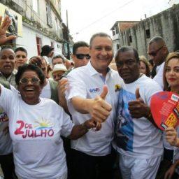 'O Brasil passa por uma crise sem precedentes', destaca Rui Costa no 2 de julho