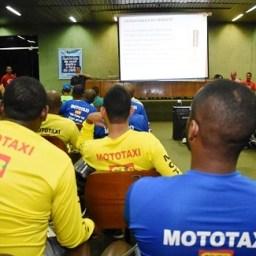 Detran abre mais 540 vagas para capacitação de mototaxistas