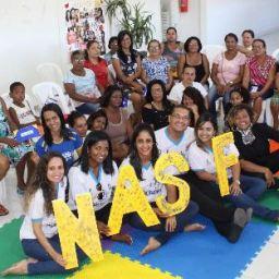 """NASF de Gandu realiza mais uma edição do projeto """"Reviver"""" de apoio a mulheres."""