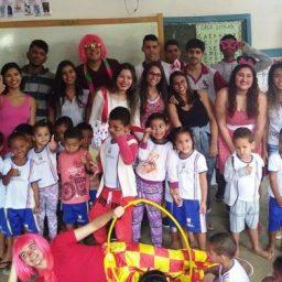 Colégio CEAS realiza atividade social no município de Gandu