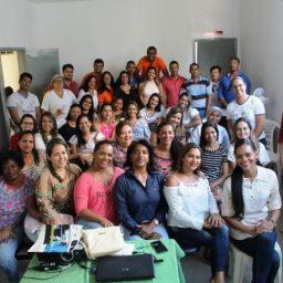 Secretaria de Saúde de Gandu promove curso de capacitação para profissionais de saúde.