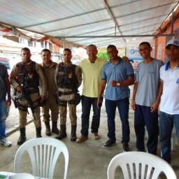 Deputado Soldado Prisco participa de reuniões em Gandu