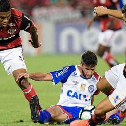 Bahia é goleado pelo Flamengo fora de casa