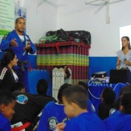 Centro de Treinamento de Artes Marciais de Gandu promoveu palestra sobre nutrição esportiva