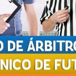 Seis municípios recebem curso para técnicos e árbitros em novembro