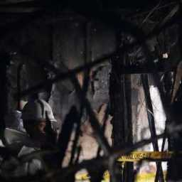 Incêndio em hospital mata 41 e deixa 70 feridos