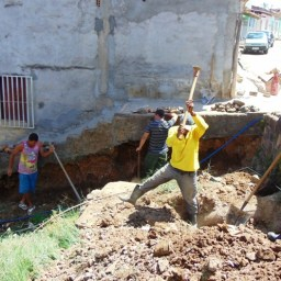 Gandu: Prefeitura inicia obras de recuperação de escadarias