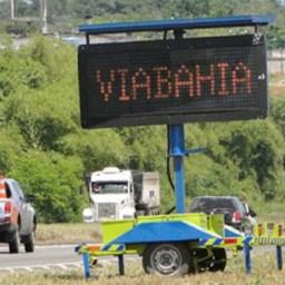 MPF (BA): Via Bahia e ANTT são condenadas por atrasos na construção de postos de pesagem na BR-116