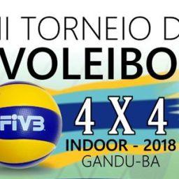 2º Torneio de Voleibol 4×4 Indoor 2018. Dia 25 de Março em Gandu