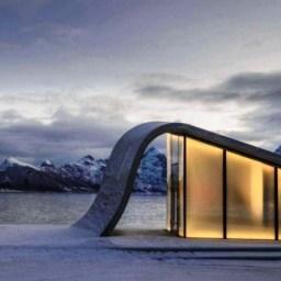 Noruega lança o banheiro público mais bonito do mundo
