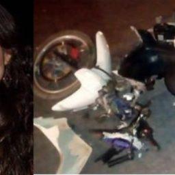 Professora morre após acidente de moto na BR-367, em Cabrália; motorista fugiu