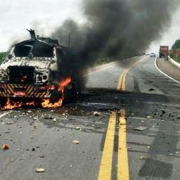 Sancionado projeto de lei que endurece punição por crime de explosão de carros-fortes