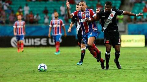 Contra o Vasco, Bahia mira recuperação no Brasileirão para deixar rebaixamento