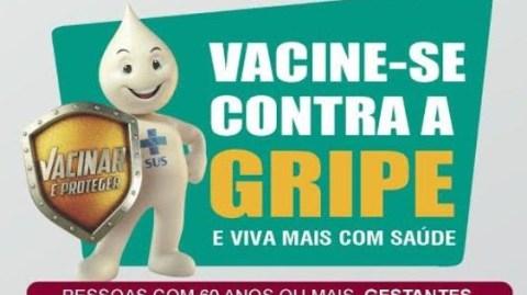 Secretaria da saúde de Gandu realiza neste sábado o dia de mobilização contra a gripe.