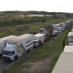 Greve dos caminhoneiros derrubou exportações em 19,5% em maio
