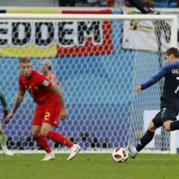 França vence a Bélgica e vai disputar a final de Copa