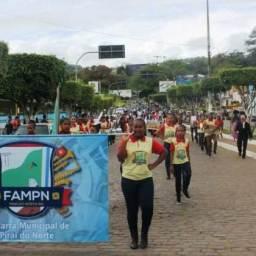 Fanfarra de Piraí participou do Desfile Cívico do 7 de Setembro em Gandu