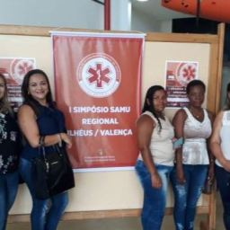 Piraí do Norte: Profissionais da área da saúde participam de Simpósio SAMU Regional