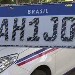 TJ determina prazo de 24h para suspender implantação da placa Mercosul na Bahia