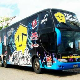 Banda Trio da Huanna é assaltada dentro de ônibus em Alagoinhas