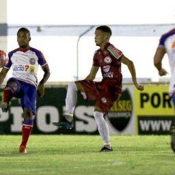 Em jogo fraco, reservas do Bahia perdem para o Jacuipense