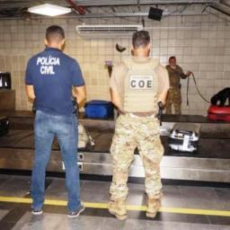 Operação faz vistorias em passageiros de 20 aeronaves em Salvador
