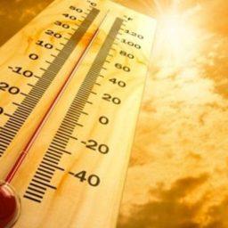 Que calor! Termômetros batem 34,3ºC e capital tem dia e madrugada mais quentes do verão